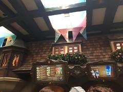 Disneyland Paris 2017 (Elysia in Wonderland) Tags: disneyland paris 2017 elysia elysias birthday 25th 25 anniversary holiday au chalet de la marionette restaurant pinocchio ceiling bnners cottage menu