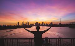 Sunset time (Thông Đặng   Photo) Tags: sunset sun sunlight sunshine sunray skyscaper city landscape landscapelovers landscapes