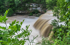 What a Rush (tquist24) Tags: cataractfalls indiana millcreek nikon nikond5300 outdoor uppercataractfalls geotagged longexposure nature river rocks trees water spencer unitedstates