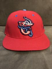 2017 Jacksonville Jumbo Shrimp Alternate Hat (black74diamond) Tags: 2017 jacksonville jumbo shrimp alternate hat