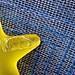 broken star stopper (muffett68 ☺☺) Tags: hmm macromondays macromonday broken star perfumebottle yellow blue texture weave
