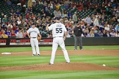 Tony Zych enters the game (hj_west) Tags: baseball philadelphiaphillies seattlemariners safecofield mlb interleague stadium night sports