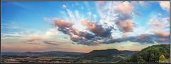 Wolken über dem Albtrauf (Dieter Meyer) Tags: schwäbische alb wolkenhimmel kirchheim teck badenwürttemberg germany schwäbischealb landschaft landscape panorama clouds wolken sky himmel deutschland