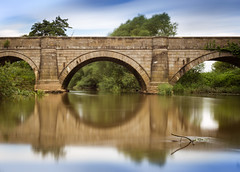 Howsham Bridge (hanley27) Tags: howsham bridge river derwent canon1740mm l f4 long exposure nd filter