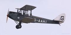 De Havilland DH60G Gipsy Moth G-AAHI Lee on Solent Airfield 2017 (SupaSmokey) Tags: de havilland dh60g gipsy moth gaahi lee solent airfield 2017