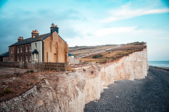 Birling Gap Sunset | Seven Sisters | Beachy Head (Charlie_Richards (cr2142)) Tags: sunset birling gap canon canon6d 6d photography cliffs travel adventure views natgeo sussex eastbourne brighton cool colour like follow share top picture photographer canonphotos best stuff fluff color