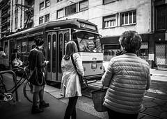 Tramspotting (Henka69) Tags: tram publictransportation commuters milano street candid streetphoto