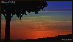 Tramonto di fine Giugno-2017 (agostinodascoli) Tags: tramonto sunset paesaggi landscapes texture nature cianciana sicilia agostinodascoli nikon nikkor