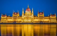 The Parliament at blue hour (Vagelis Pikoulas) Tags: blue hour long exposure parliament budapest pest hungary travel photography architecture canon 6d