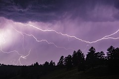 Lightning in the park (Notkalvin) Tags: lightning windcavenationalpark windcave notkalvin storm clouds bolts mikekline electricity nature fury notkalvinphotography outdoor night evening bright loud blackhills forest southdakota