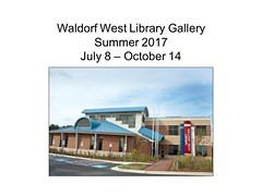 "Waldorf West Library Gallery - Summer 2017 • <a style=""font-size:0.8em;"" href=""https://www.flickr.com/photos/124378531@N04/35672914002/"" target=""_blank"">View on Flickr</a>"