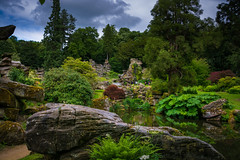 someone's backyard (Phil-Gregory) Tags: garden nikon d7200 sigma18250macro colour chatsworthhouse peakdistrict water scenicsnotjustlandscapes