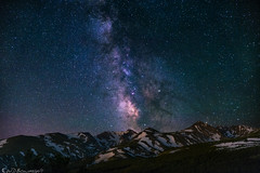 One in 2 trillion (Bill Bowman) Tags: milkyway indianpeaks arapahoepeaks mountalbion kiowapeak navajopeak niwotridge mountainresearchstation darksky stars