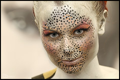 Cheetah girl (alamond) Tags: face women portrait beauty female human adult young stagemakeup beautiful paint makeup girl cheetah canon 7d llens ef 70300 f456 l is usm alamond brane zalar