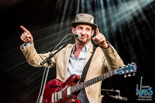 Pascal Geiser @ Sierre Blues Festival