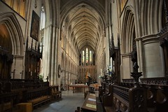 Historic and glorious | Southwark Cathedral (Photography by Eric Hentze) Tags: london londoncity uk cathedral church southwarkcathedral southwark greatbritain england travel erichentze nikon d7100 nikond7100 2017 city historical glorious silence architettura architecture architektur indoor untiedkingdom