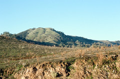 Mountains (m.ashe7) Tags: newmelonesreservoir newmelones 2015 drought northerncalifornia stevenotbridge california winter december christmas outdoors roads infrastructure reservoir lake cliffs mountains