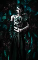 male BJD in skirt flashmobe (Muffin_elfa) Tags: bjd black doll impldoll filraen tattoo cyberpunk cyborg skirt malebjdinskirt
