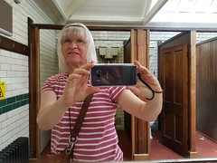2017 0625 517 (SGS8+) Lucy; Silloth; restored Edwardian ladies loo (Lucy Melford) Tags: samsunggalaxys8 cumbria silloth restored edwardian toilet lucy