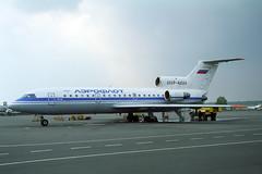 CCCP-42524 Yakovlev Yak-42 Aeroflot (pslg05896) Tags: bka uubb moscow bykovo cccp42524 yakovlev yak42 aeroflot