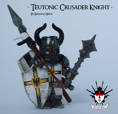 Teutonic Crusader Knight By Barthezz Brick 1 (Barthezz Brick) Tags: templar crusader teutonic knight moc afol custom minifig medieval lego