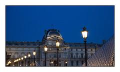 Nuit bleue sur le Louvre (Rémi Marchand) Tags: nuit bleue paris louvre îledefrance canon 5d mark iii