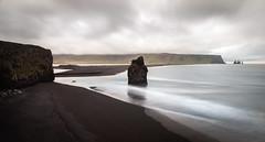 Kirkjufjara (Jack Landau) Tags: kirkjufjara iceland ocean black sand beach landscape sea nature long exposure travel jack landau