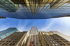 Chrysler Building (Maurizio M.) Tags: new york chrysler building chryslebuilding newyork best view light reflection sky love blue america maurizio mercuri viaggio bandiera flag urban usa canon travel luce