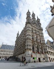 Leuven, Belgium (alh1) Tags: grotemarkt stadhuis townhall belgium flanders leuven louvain holiday gothic