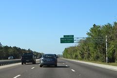 Florida I95nb Exit 293 .5 mile (MJRGoblin) Tags: flaglercounty 2017 palmcoast florida interstate95