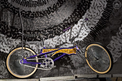 Kustom Bike (Jtofs85) Tags: bicyclette velo bicycle custom sigma 105mm sonyflickraward a99m2 strobist flash tag grafity low rider painting light grenchen switzerland handmade kustomaddikt drive side bike only drivesidebikeonly