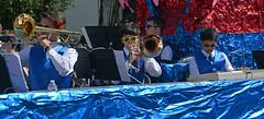 Jesuit Jazz (BKHagar *Kim*) Tags: bkhagar mardigras neworleans la louisiana parade kreweofmidcity foil bright shiny floats people beads throws street napoleon uptown jesuitjazz