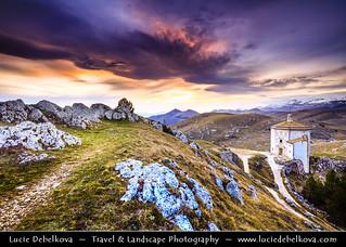 Italy - Abruzzo - Rocca Calascio at Sunset
