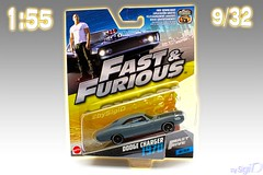 1-55_Mattel_Fast_Furious_09of32_Dodge_Charger (Sigi D) Tags: 155 mattel diecast fast furious fastfurious sigid moviecar dodge charger fastfive five dominic toretto