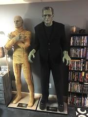 Universal Monsters Life Size Frankenstein and The Mummy (garystrange) Tags: frankenstein prop life size replica 11 halloween boris karloff