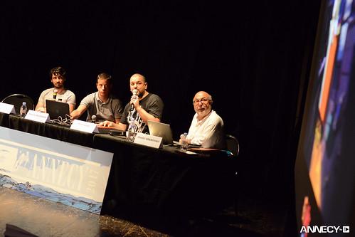 "WIP Feature – ""Petit Vampire""/""Little Vampire"" – Adrien GROMELLE, Antoine DELESVAUX, Joann SFAR, Dimitri GRANOVSKY (modérateur/moderator)"