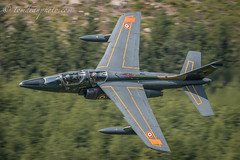 French Air Force Alpha Jet (Tom Dean.) Tags: jet summer bluebell lowlevel wales machloop arméedelair trainer alpha force air french