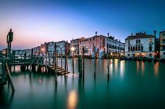 blue Hour (ddaugenblick) Tags: venedig venezia venice blue hour grand canal water wasser ora blu acqua