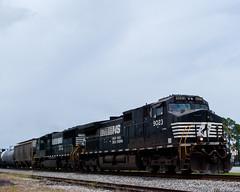 Norfolk Southern #9023 (Fred Watkins (kg4vln)) Tags: kg4vln nikon d3000 railroad railfans elbertadepot warnerrobins georgia