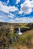 NT3.0091-WP170617_67072 (LDELD) Tags: palouse kahlotus washington palousefallsstatepark sunny clouds river canyon waterfall