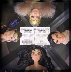 Ticket (Still Museum) Tags: barbie hippolyta antiope stevetrevor diana prince doll ken ticket wonder woman