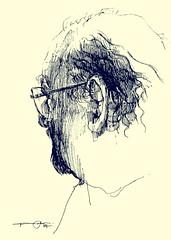 P1016623 - Copy (Gasheh) Tags: art painting drawing sketch portrait man pen gasheh 2017