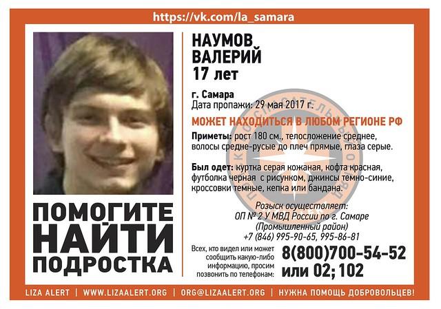 ВРязанской области ищут 17-летнего подростка изСамары