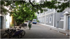 French Colony (abiexplorer) Tags: colony south india pondicherry peaceful morning relaxing incredible town lazy