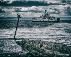Ferry Leaving For Millport (Angus Lamont) Tags: scotland largs ferry caledonian macbrayne millport