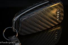 take the key (harakis picture) Tags: key audi tt ttrs black carbon reflection macrounlimited