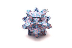Morganite (Akizhi) Tags: origami modular kusudama paper art crafts folding