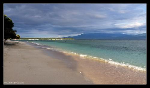 Plage au Sud de Gili Trawangan- Lombok- Indonésie- Indonesia