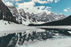 Moraine Lake (Gracia Chua Min Yi) Tags: moraine lake alberta canada mountain nature outdoor water skies reflection