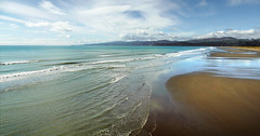 Pegasus Bay. New Zealand. (Bernard Spragg) Tags: pegasusbay seascape canterburynz lumixfz1000 scenery